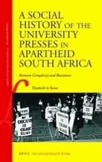 Image for A Social History of the University Presses in Apartheid South Africa